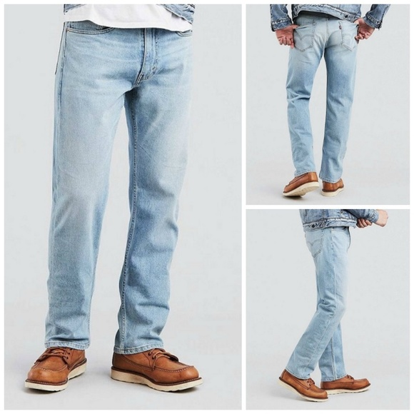 3c9e5e339b05 Levi Mens 505 Regular Fit Jean Size W 34 x L 34